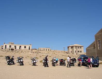 Motorcycle Tours - Cullinan Namibia