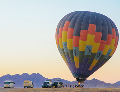 Hot Air ballooning - Group Tours in Namibia