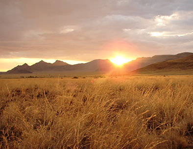 Sunrise in the Namib Naukluft - Guided Tours in Namibia