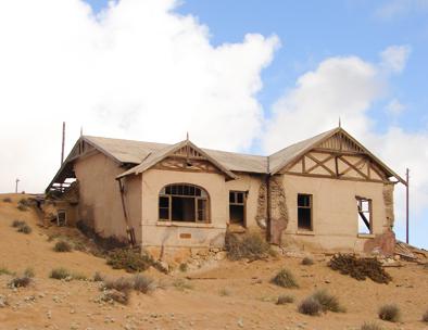 Abandoned Kolmanskop
