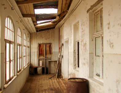 The derelict Ghost Town of Kolmanskop
