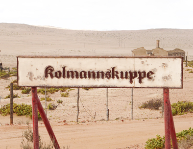 Welcome to Kolmanskop