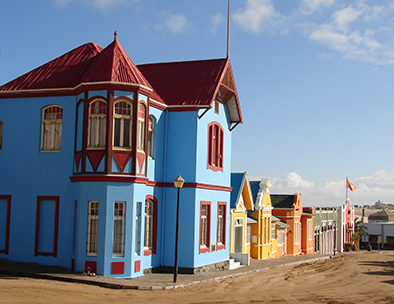 Lüderitz - Typical architecture
