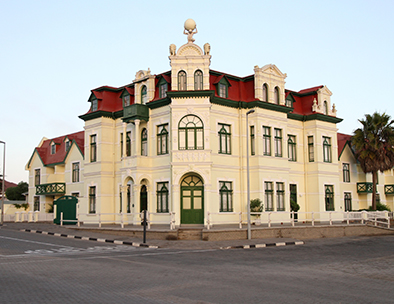 An example of colonial German architecture